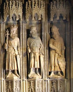 Царь Давид, Иисус Навин и Иуда Маккавей