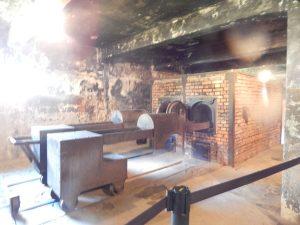 Крематорий с тележками в Освенцим I