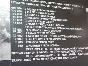 Депортация евреев в Освенцим из разных стран