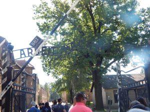 Главные ворота Освенцима I