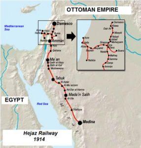 Хиджазская железная дорога.