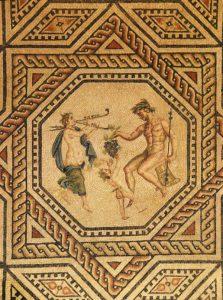 Мозаика Диониса на полу римской виллы III в. (Романо-германский музей Кёльна)