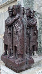 Памятник тетрархам в Венеции