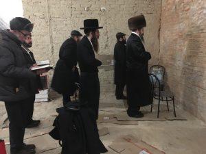 Молитва в Савранской синагоге в Балте