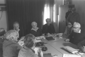 1977 — Встреча И.Рабина с вождями МАПАМ