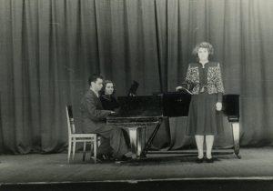 На концерте художественной самодеятельности ВНИИМИО