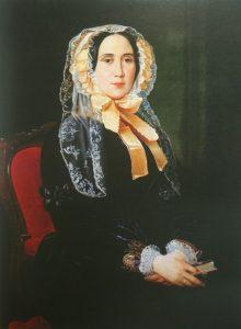 Юлия Михайловна Грейг на портрете С. К. Зарянко (1840-е)