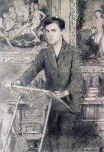 Бруно Шульц. Автопортрет