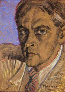 Автопортрет Виткацы, написанный им в 1939-м