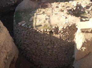 Неолитическая башня в Иерихоне (Тель-ас-Султан) возрастом около 10 тыс. лет, принадлежавшая потомкам натуфийской культуры. Возможно, строители этой башни говорили на праафразийском языке.