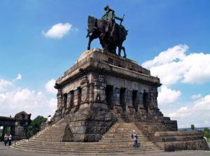 Немецкий угол. Памятник Вильгельму I