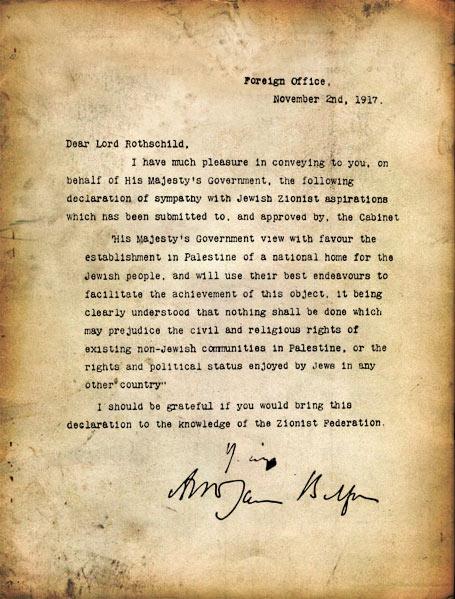 Письмо Бальфура