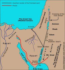 Как видите, Эль Ариш был в границах Земли Обетованной