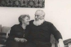 Раиса Давыдовна Орлова и Лев Зиновьевич Копелев, Кельн, 1982 г.