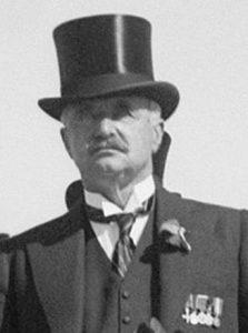 Лорд Уильям Пиль, руководитель Королевской комиссии по Палестине (1936-37 годы