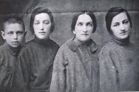 Иосиф, Мира, бабушка Дина, Рива