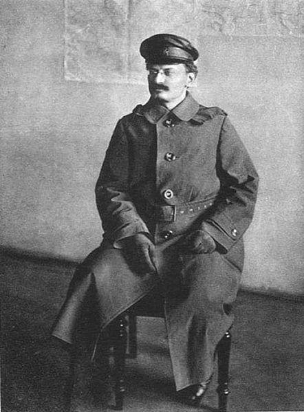 Лев Троцкий в 1918 году
