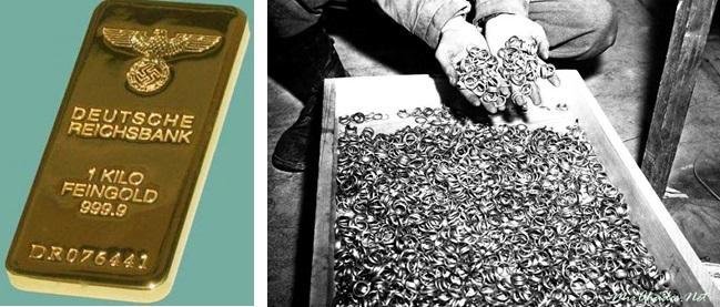 В такой «расфасовке» доставлялось золото в швейцарские банки