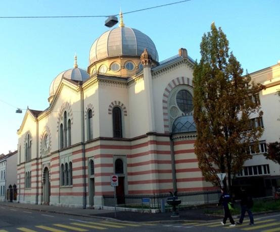 Синагога еврейской общины Базеля