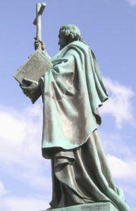Памятник св. Бонифация в Фульде