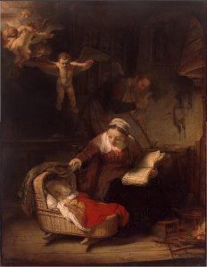Святое семейство, 1645 г.