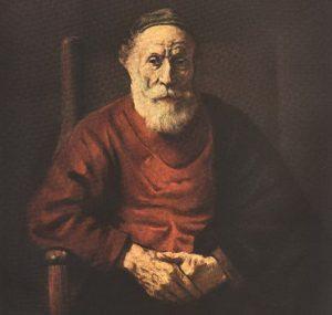 Портрет старика в красном, 1654 г.