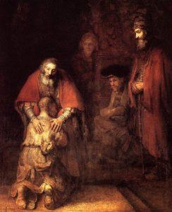 Возвращение блудного сына, 1668 /1669 г.г.