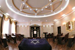 Новый зал синагоги в Бишкеке