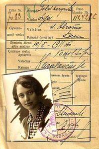 Лея — студентка, 1929