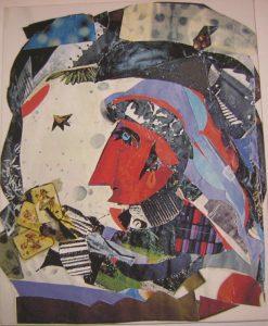 Работа Леи Гольдберг. С выставки в Richter Gallery, Фото Ш.Ш. 2007