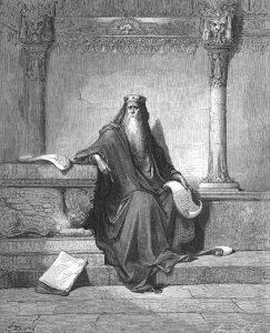 Гюстав Доре. Царь Соломон.