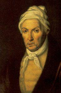 А.А. Василевский. Портрет Г.Р. Державина (1743 - 1816), 1815