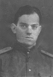 Младший лейтенант Давид Дубнов