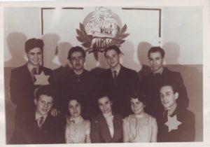 Рис. 4. На фестивале в ЛКИ, 27 марта 1957.