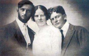 Авшалом, Ривка и Александр.