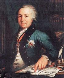 В. Боровиковский. Портрет Г.Р. Державина, 1795