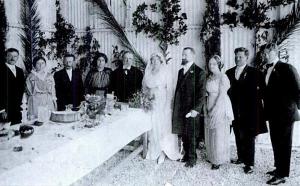 Свадьба Хаима Авраама и Сарры Аронсон в Атлите.
