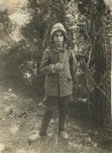 Юный герой. Подросток-доброволец в турецкой армии.