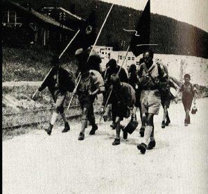 Еврейский аналог «Гитлерюгенда» — «Schwarzes Fähnlein» («Чёрный флажок»)