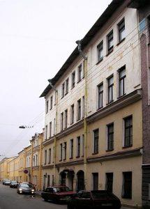 Здание издательства и типографии в С-Петербурге по адресу: пер. Прачечный, 6