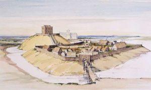 Clifford Tower XII век. Реконструкция