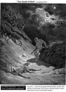 Гюстав Доре. Смерть Авеля