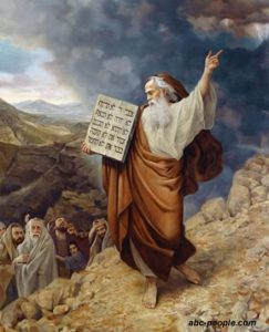 Гюстав Доре. Моисей
