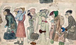 Рисунок Хельги Вайс