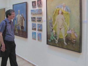 Выставка «Округлая». Куратор: Катя Тув, 2012