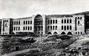 Строительство Техниона. Хайфа, 1912 г.