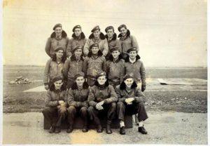 Группа летчиков ВВС Израиля, проходившая обучение в Чехословакии
