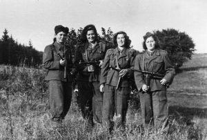 Девушки-бойцы Бригады Чехит