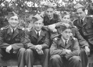 Летчики ВВС Израиля, проходившие обучение в Чехословакии