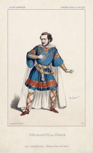 Жильбер Дюпре в партии Гастона, опера «Иерусалим»
